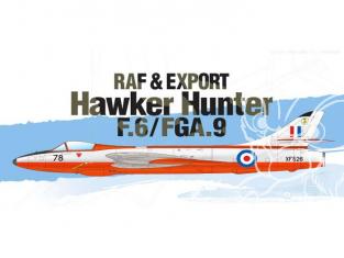 Academy maquette avion 12312 Hawker Hunter F.6/FGA.9 RAF et Export 1/48