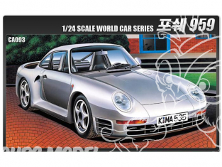 Academy maquette voiture 15103 Porsche 959 1/24