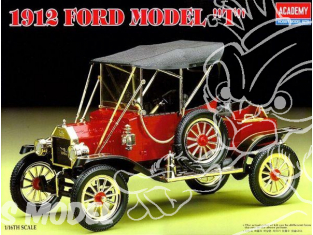 Academy maquette voiture 15100 Ford modele T 1912 1/16