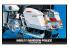 Academy maquette moto 15500 Harley davidson Police 1/10
