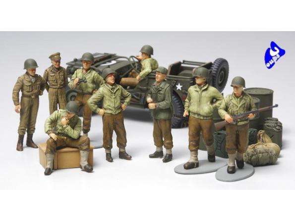 tamiya maquette militaire 32552 Fantassins US 2ème G.M. 1/48