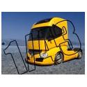 1/43 Miniature camion Bus