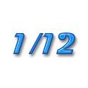 1/12 Photodécoupe voiture