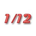 1/12 Photodécoupe moto