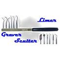 Outils Limer Graver Sculpter Poncer
