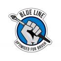 HATAKA Peintures acryliques - Red / Blue Line